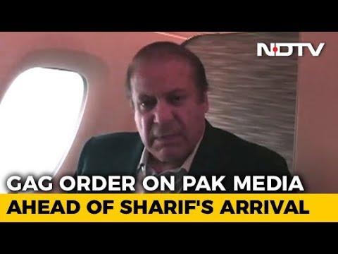 Nawaz Sharif, Daughter Return To Pakistan, To Be Arrested
