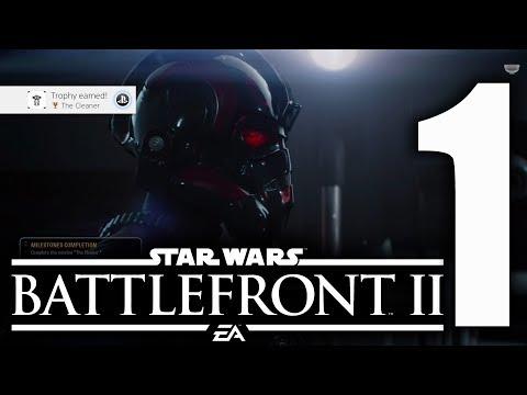 STAR WARS BATTLEFRONT 2 Walkthrough Gameplay Part 1 - Iden - Campaign Mission 1 PS4 PRO