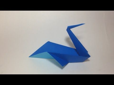 How To Make An Origami Pelican Youtube