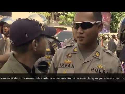 Aksi Demo RMS di Ambon - 25 April 2014