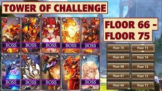 Video King's Raid - Tower of Challenge Floor 66 to Floor 75 + Clear Tips download MP3, 3GP, MP4, WEBM, AVI, FLV Oktober 2018