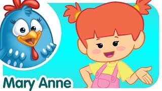 Mary Anne Counts to - Lottie Dottie Chicken - Kids songs and nursery rhymes in english