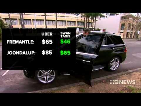 Uber Perth   9 News Perth