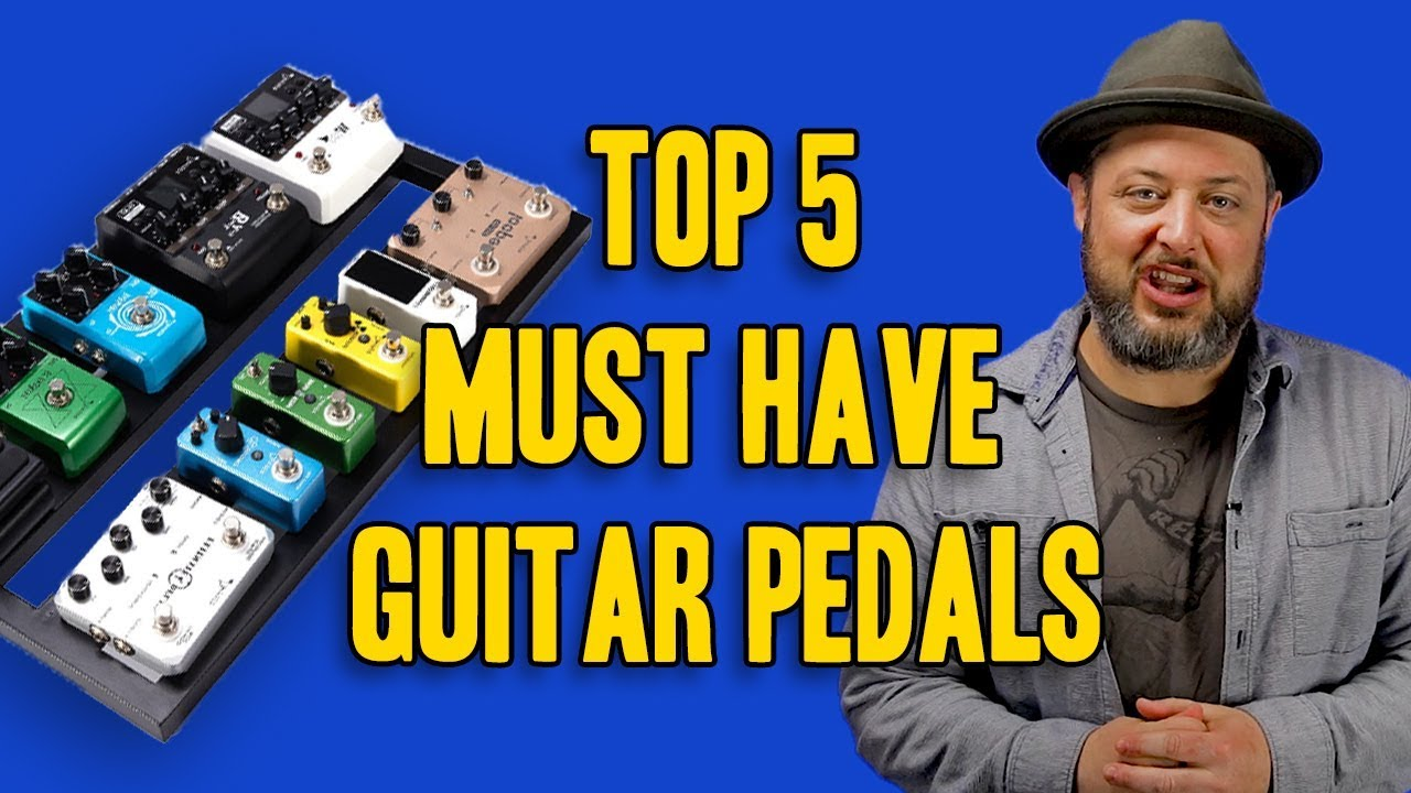 5 must have guitar pedals marty schwartz youtube. Black Bedroom Furniture Sets. Home Design Ideas