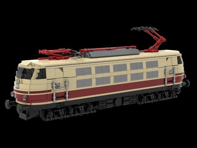 Aufbau meiner BR 103 im Rheingold Design zusammen mit ein paar Gästen