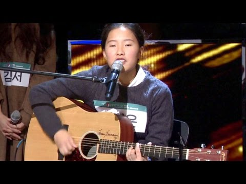 Lee Sung Eun Singing 'Honey' And Received Praise By JYP! 《KPOP STAR 6》 EP05