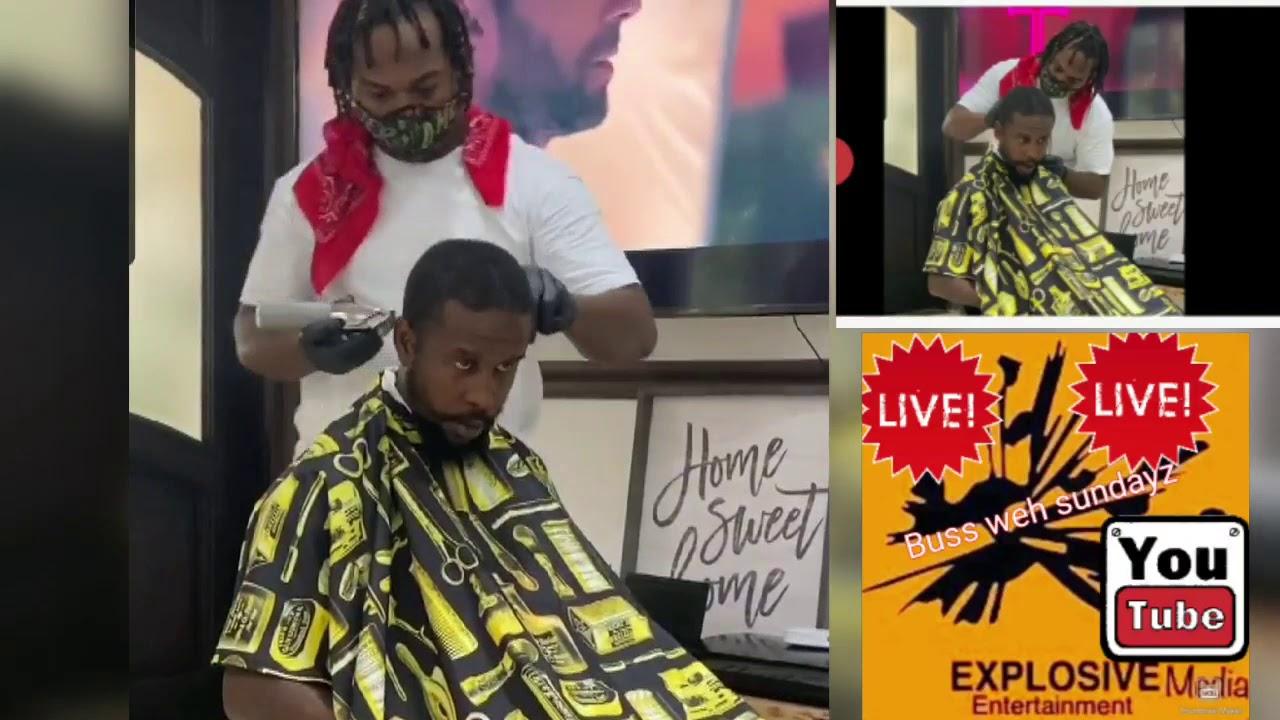 Popcaan new look barber shop moments   YouTube