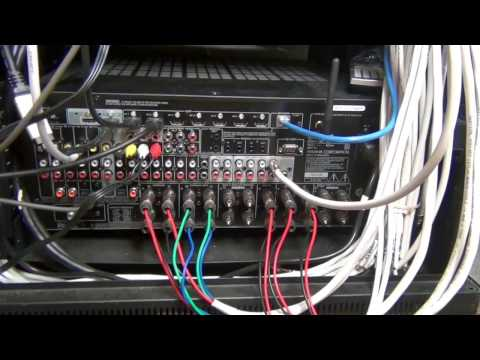 How to connect a surround sound receiver - Part 4