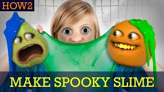 HOW2: How to Make Spooky Slime!