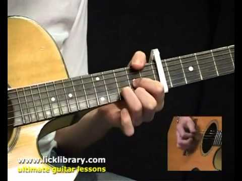 Here Comes The Sun By The Beatles Guitar Lesson | How To Play Guitar With Jamie Humphries