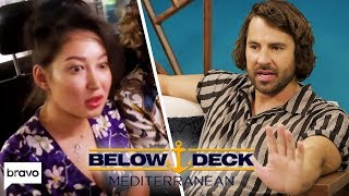 Travis Regrets His Reaction To Chef Mila's Homophobic Comments | Below Deck Med After Show