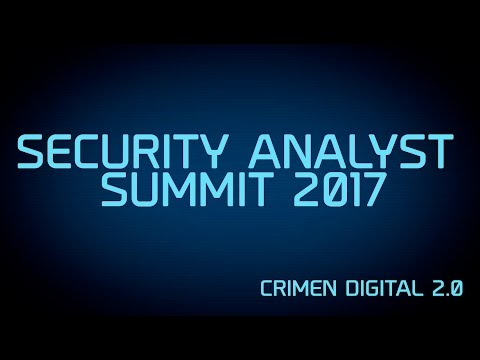 07.- Security Analyst Summit 2017