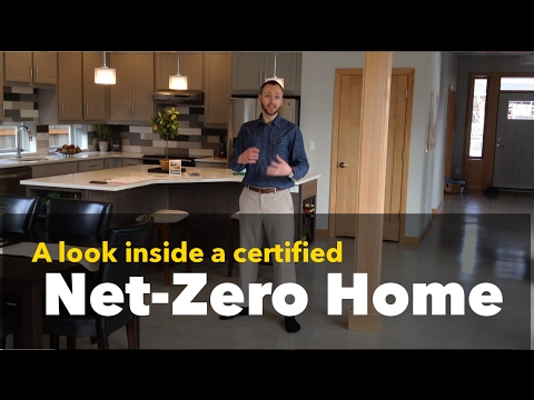 Neighborhood Highlight - Net Zero Home