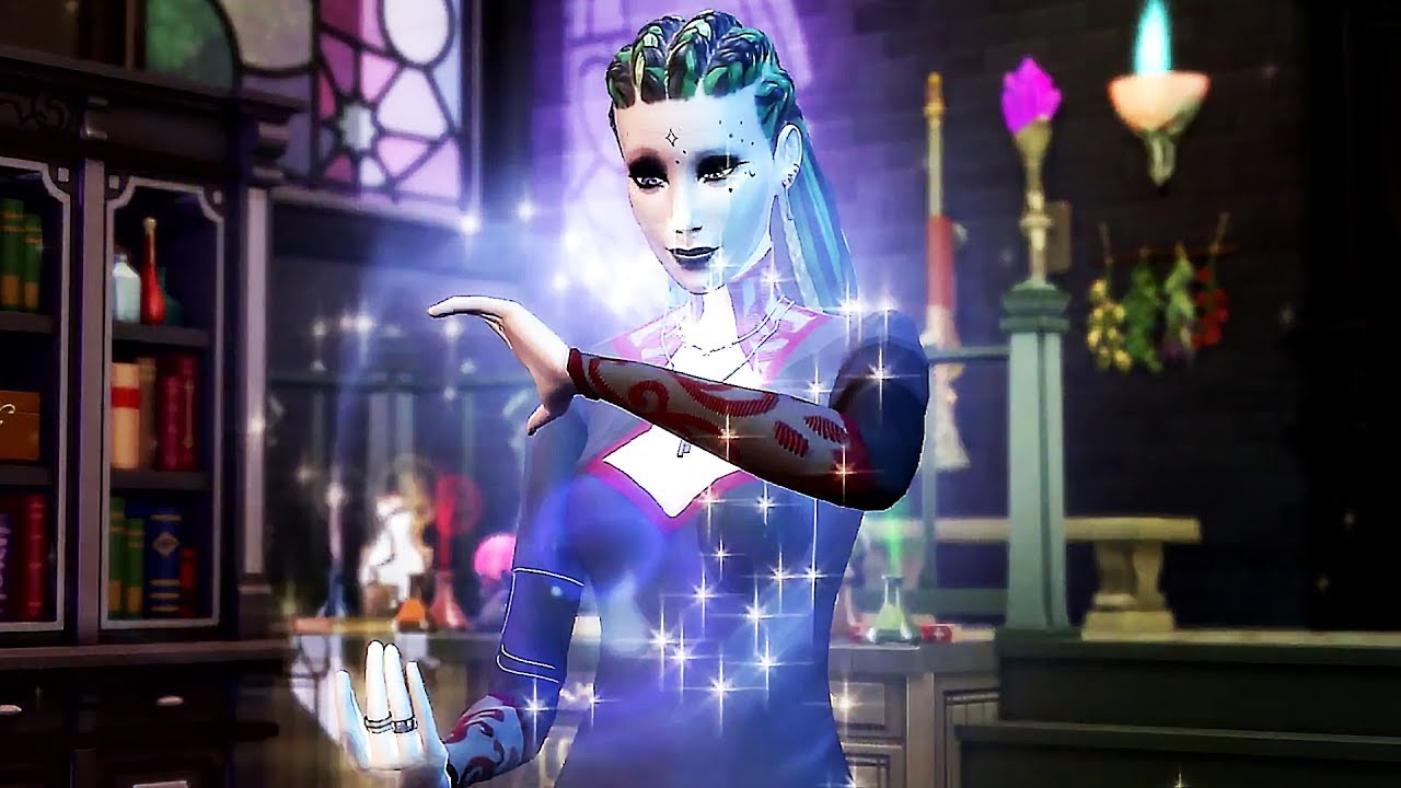 """DER SIMS 4 """"Realm of Magic DLC"""" -Anhänger (2019) PS4 / Xbox One / PC + video"""