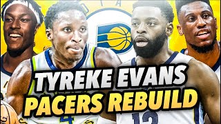TYREKE EVANS SIGNS WITH THE PACERS REBUILD! NBA 2K18 MY LEAGUE!