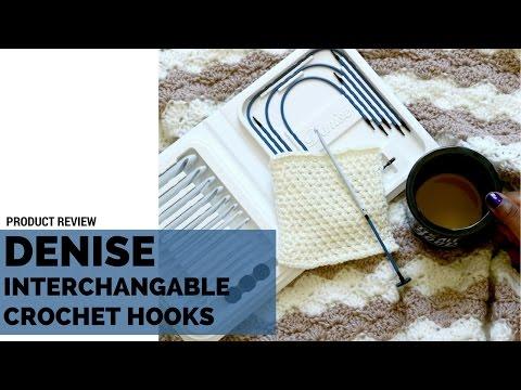 *Product Review* Denise Interchangable Crochet Hooks - Tunisian Crochet Hook Set