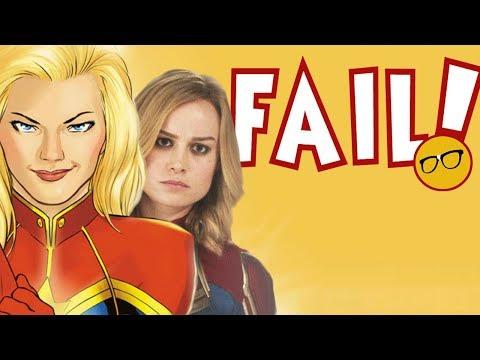 Captain Marvel Fails Comic Shops Again | MCU Soars as Comic Book Industry Falls