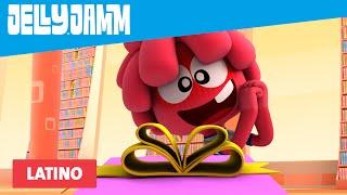 Caricaturas Infantiles. Jelly Jamm Latino. El Regalo es el R...