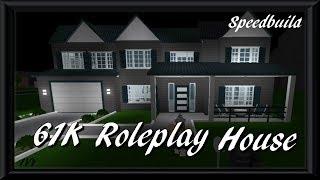 61K Roleplay House | Roblox Bloxburg | Speedbuild |