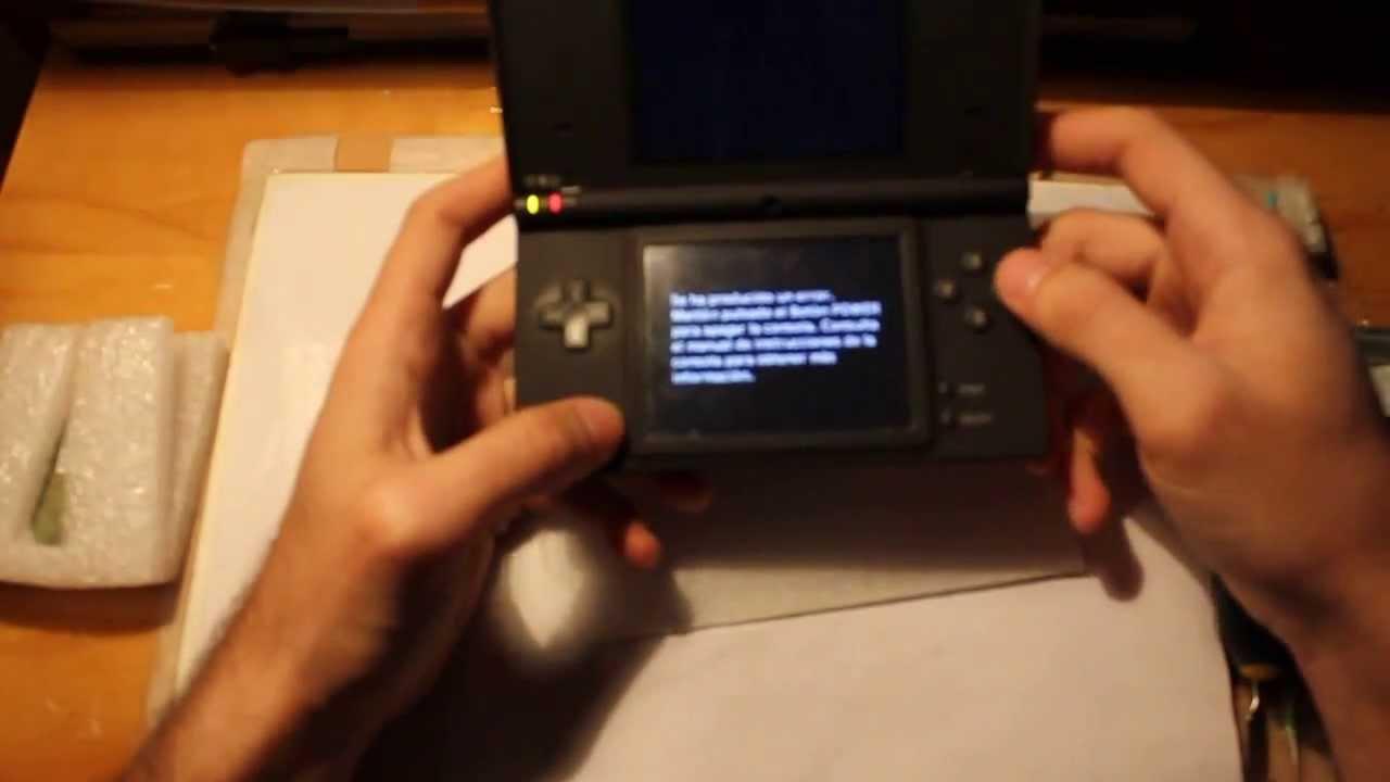 reparaci n nintendo dsi error pulse el boton power youtube rh youtube com Nintendo DS Lite Nintendo 3DS XL