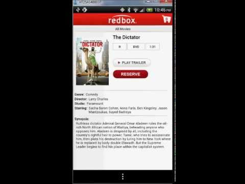 Redbox Android App Tutorial And Review