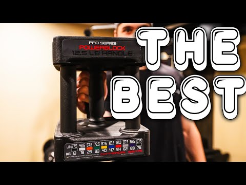WHY POWERBLOCKS ARE THE BEST DUMBBELLS YOU CAN BUY!
