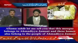 ENGLISH SUBTITLES: KALIMA ERASED PAKISTANI TV PROGRAM (ISLAM AHMADIYYA)