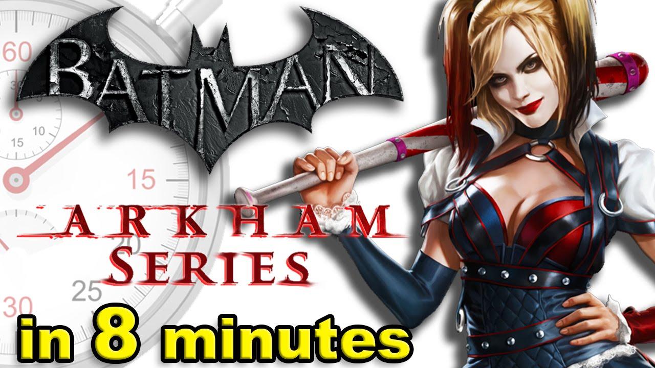The History of Batman: Arkham Games - A Brief History - The History of Batman: Arkham Games - A Brief History