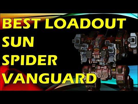 THE VANGUARD SUN SPIDER - BEST LOADOUT & MECHS HUGGING =D