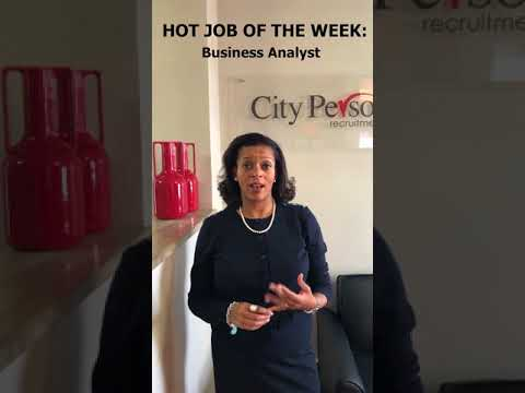 HOT JOB OF THE WEEK: Business Analyst