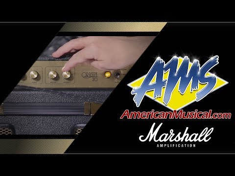 Marshall Origin 20 Combo Demo - American Musical Supply