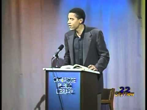 Obama Reading From Dreams From My Father (1995 )
