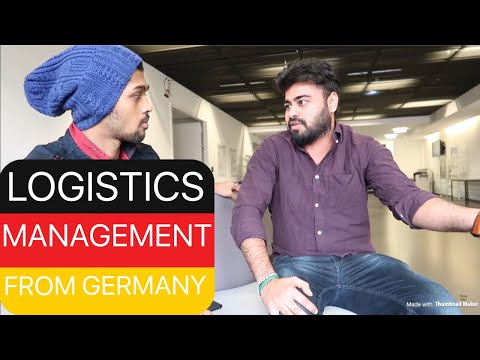 MBA IN LOGISTICS MANAGEMENT FROM GERMANY