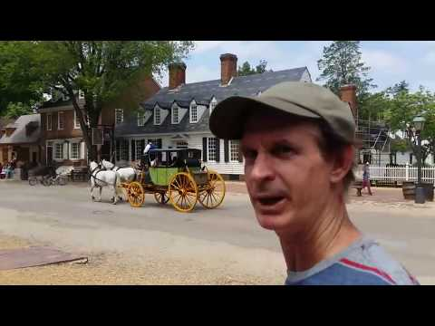 Colonial Williamsburg VA ( Road Trip 62' VW Bus )