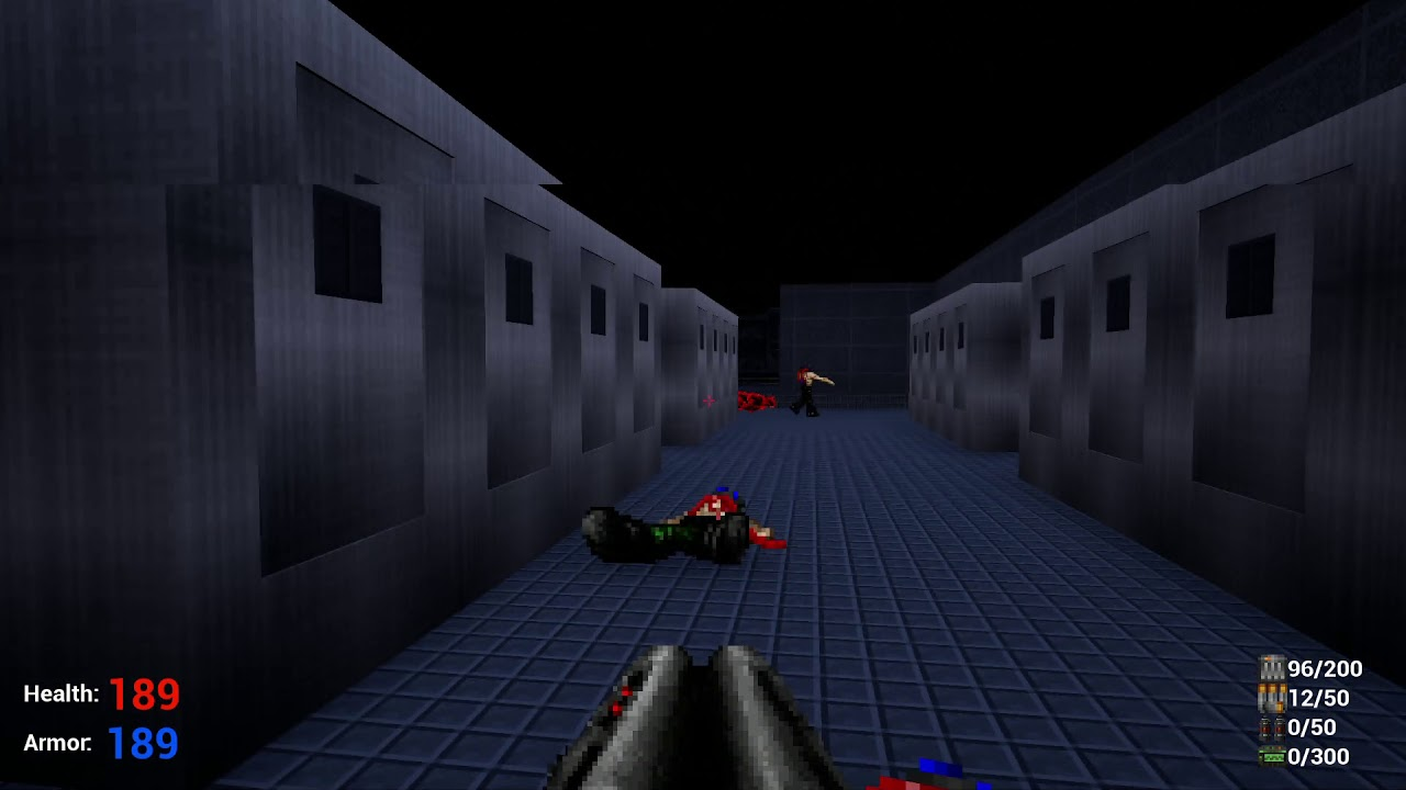 Doom E1M1 Remake with UE4 and Freedoom assets (Update)