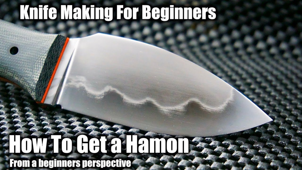 Knife Making | How To Make a Hamon Line On a Knife From A Beginners  Perspective