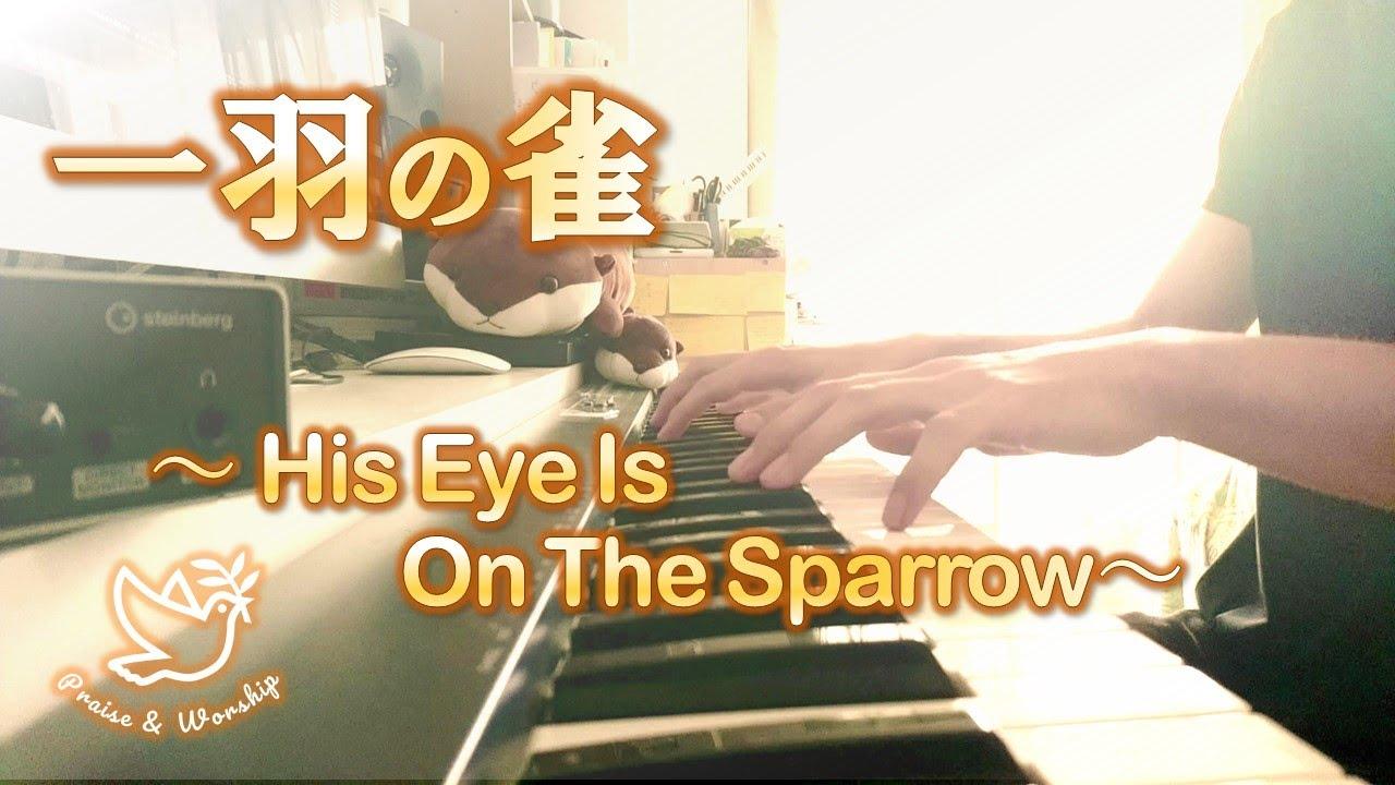 【聖歌】一羽の雀/ His Eye Is on the Sparrow 弾いてみた