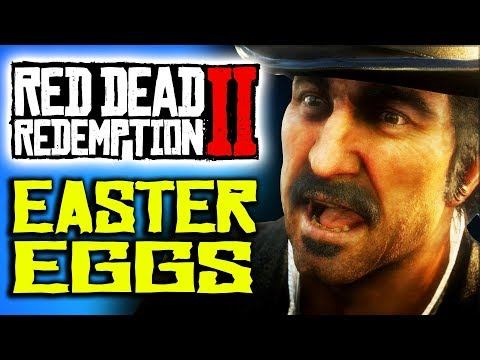 Red Dead Redemption 2 Easter Eggs & Cultural References