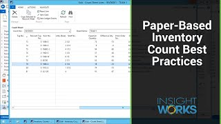 Inventory Counting Software