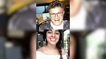 Camila Cabello on Alejandro Sanz Instagram Livestream | May 21, 2020 [📍Miami, FL]