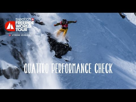 Audi quattro performance check - xtreme verbier - swatch freeride world tour 2016
