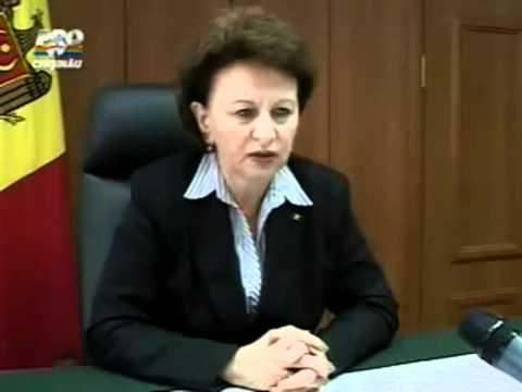Zinaida Greceanîi. 7 aprilie 2009. Imagini ProTV