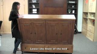 "How To Use Our Mobile Wallbed From Wallbeds ""n"" More"