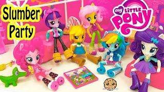 My Little Pony Equestria Girls Minis Dolls MLP Slumber Party -…