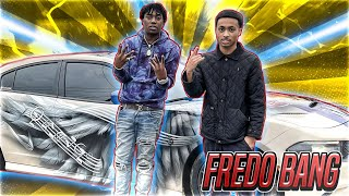 RAPPER FREDO BANG DID BURNOUTS & DONUTS IN HELLCAT! *TALKS ALMOST SIGNING TO CMG & TOP 5 RAPPERS*