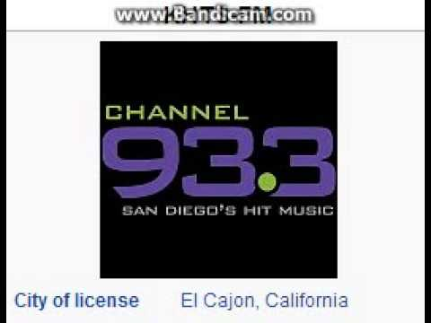 KHTS-FM Channel 93.3 El Cajon, CA TOTH ID at 3:00 p.m. 7/10/2014