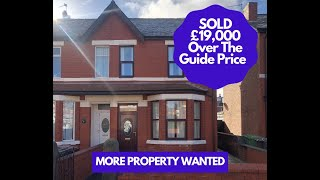 🏠 For Sale Via Auction 🏠 3 Bed Semi-Detached House - 26 Pitt Street Southport PR9 7AE