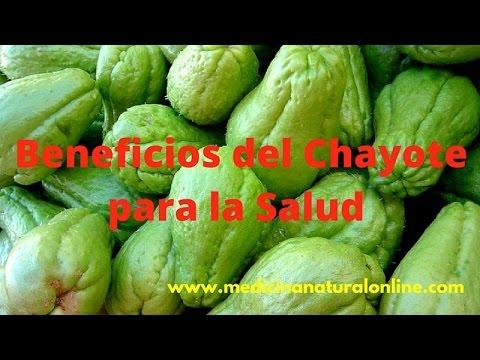 BENEFICIOS DEL CHAYOTE - DIABETES, COLESTEROL, BAJA DE PESO