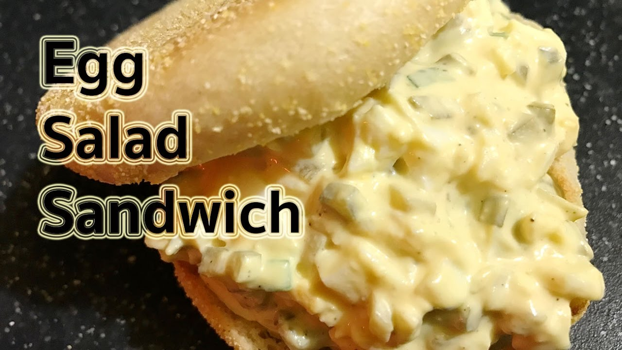Sandwich Recipes : Quick and Easy Egg Salad Sandwich ...