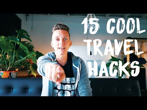 15 COOL TRAVEL HACKS - How to Travel Like a PRO ✈   save time, money & nerves